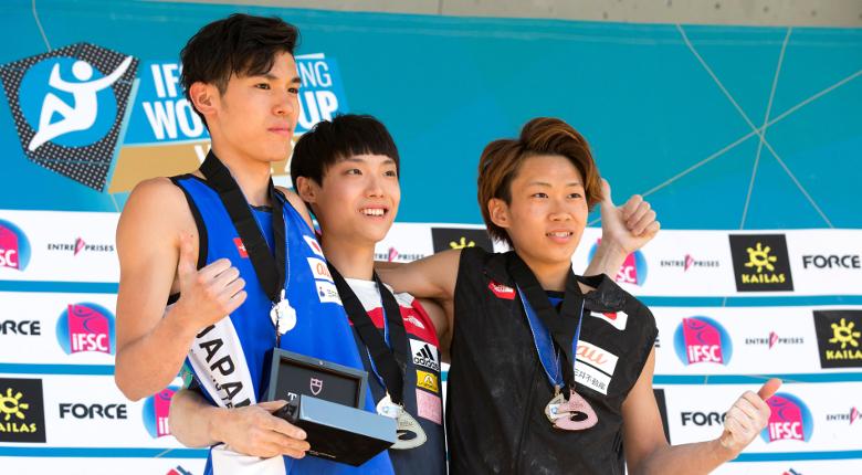 日本勢の好調続く。2人の10代が初表彰台へ/ボルダリングW杯2017第5戦 米国・ベイル大会