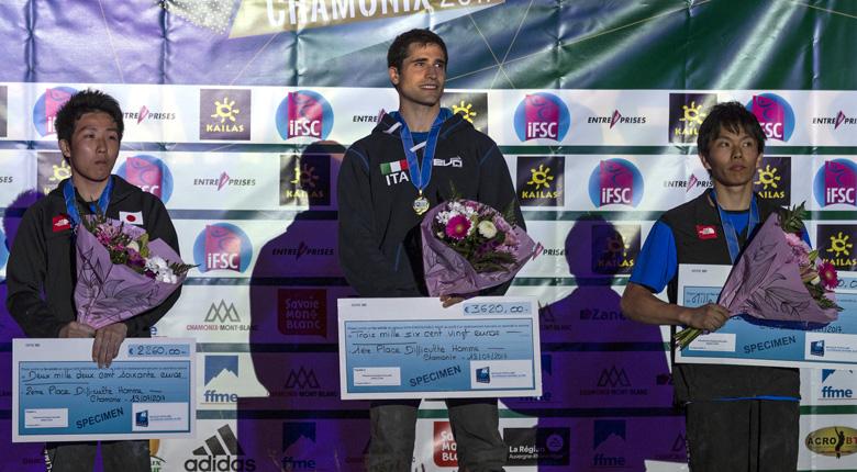 是永が2位、波田が自身初の3位に/リードW杯2017第2戦 フランス・シャモニー大会