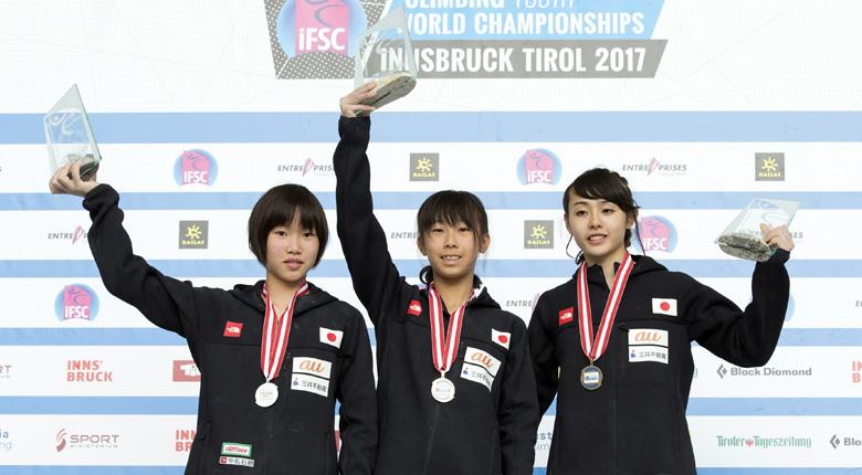 日本、複合種目で新たに7個のメダルを獲得し大会を締めくくる/IFSC世界ユース選手権2017【コンバインド】