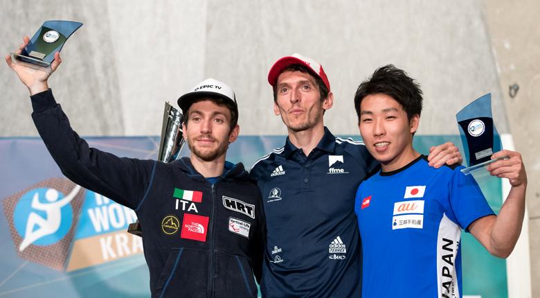 是永敬一郎が年間3位、楢崎智亜が複合で年間優勝/リードW杯2017第8戦 スロベニア・クラーニ大会