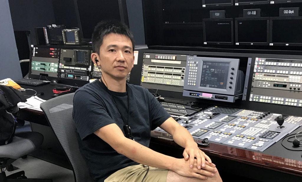 上倉享(日本スポーツクライミングカウンシル運営・クライミング大会中継エンジニア)