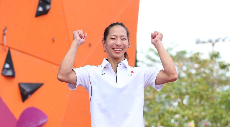 野口啓代が金メダル!男子でも銀、銅/アジア競技大会2018