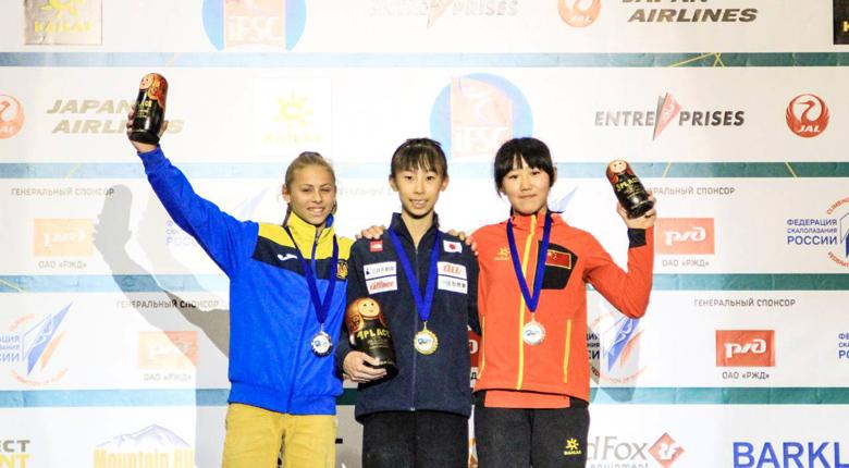 谷井菜月が金! 日本代表、14のメダルを手に大会を締めくくる/IFSC世界ユース選手権2018