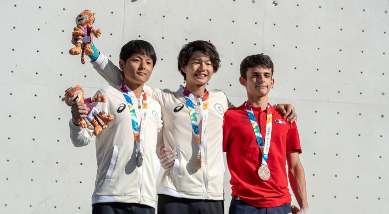 土肥圭太が金、田中修太が銀!/ユースオリンピック2018