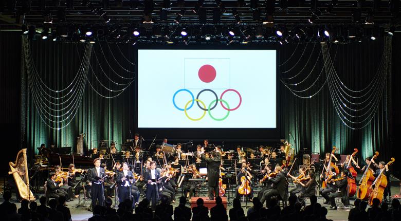 音楽と映像が融合した、東京五輪500日前コンサートに野口啓代が登場。「私もいつかこの映像に」