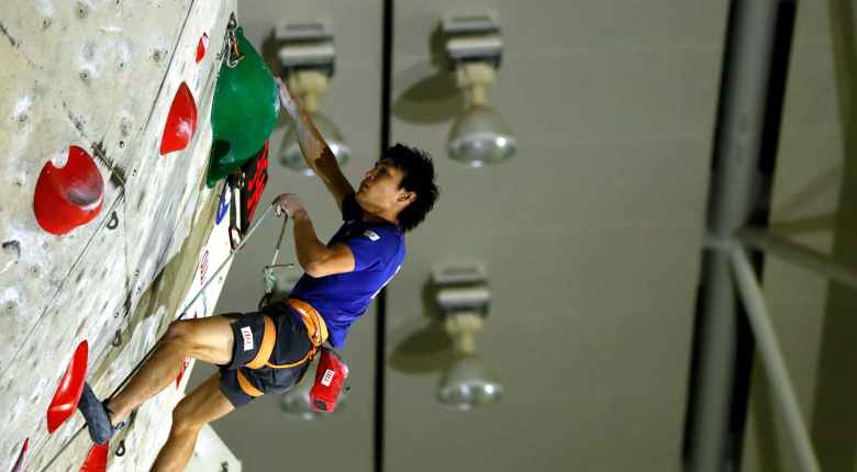 実力伯仲の準決勝。楢崎智亜、平野夏海が首位通過/第32回リードジャパンカップ【準決勝】