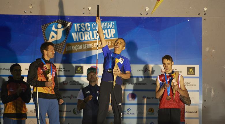 パラも強い! パラクライミング世界選手権2019で小林幸一郎が4連覇。日本勢7個のメダルを獲得