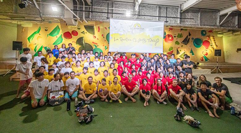 夢のチームコンペティション「La Sportiva Climb Tokyo」が開催