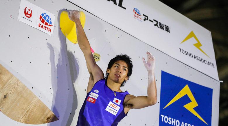 楢崎智亜ら日本勢4名が決勝へ。厚い選手層示す/IFSCクライミング世界選手権2019八王子【コンバインド男子予選】
