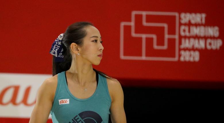 野口啓代「明日はまた気合を入れていく」。女子予選後の選手コメント ボルダリングジャパンカップ2020