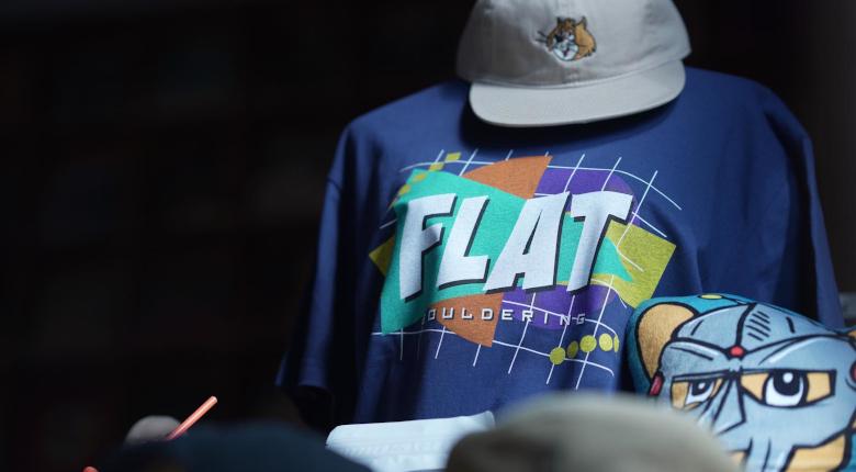 山形のFLAT BOULDERINGが5周年記念Tシャツを明日から販売 収益は休業の損失補填に