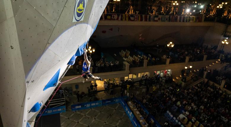 延期されていたクライミングアジア選手権は12月に開催
