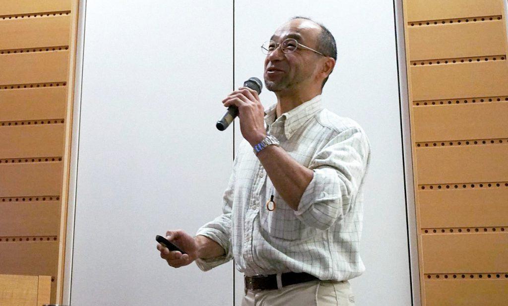 六角智之(JMSCA理事・スポーツクライミング医科学委員)