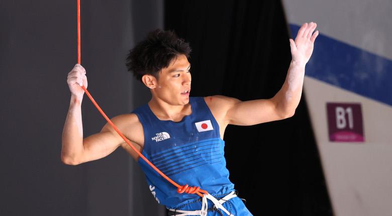 4位の楢崎智亜「残念」も「選手の登りで喜んでもらえたら」【東京五輪 男子決勝】