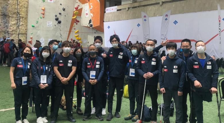 パラクライミング世界選手権で日本勢が金2個、銅1個の活躍