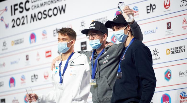 リードでシューベルトが最多タイ3度目、ソが初V 日本勢は表彰台に届かずも健闘【クライミング世界選手権2021】