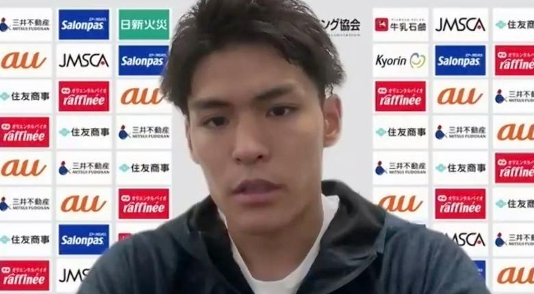楢崎智亜 世界選手権で「連覇目指す」 パリ五輪は2種目複合に専念