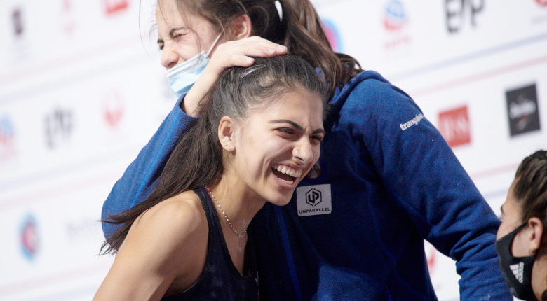 W杯年間&世界選手権制覇のグロスマンが1位【ボルダリング女子|世界ランキング】